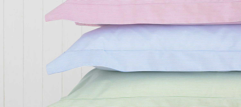 Bed linen banner