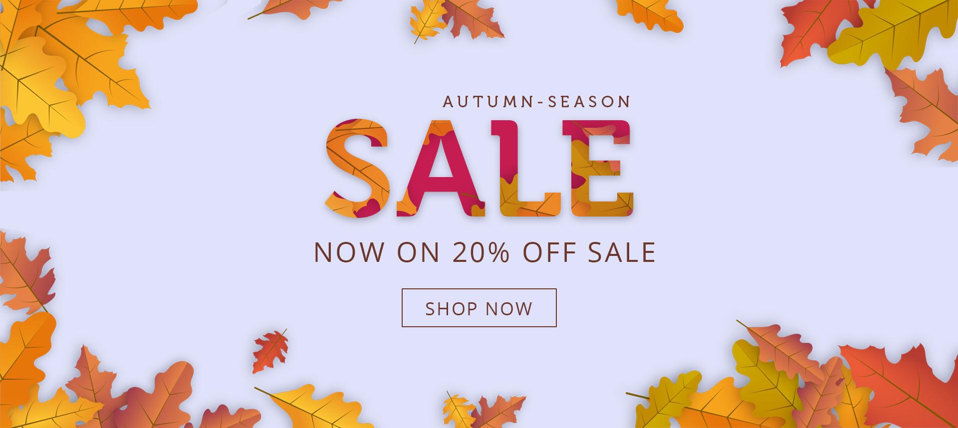 Autumn Season Sale